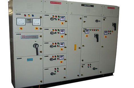 Power Distribution Board front view